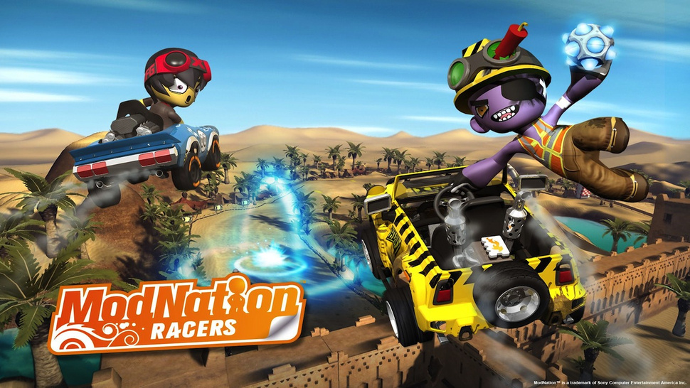 The Vita's <em>ModNation Racers</em> is now <em>ModNation Racers: Road Trip</em>
