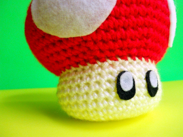 Felt Mario Bombs Are Dangerously Cute