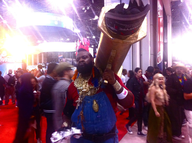 New York Comic-Con 2011 Day Three in Ivy, Steampunk and Homicidal Mario