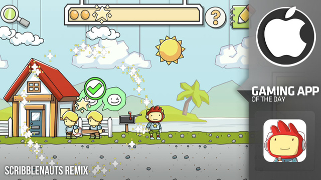 Scribblenauts, the Video Game that Seems Like a Magic Trick, is Pretty Good on iOS