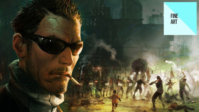 More of Deus Ex: Human Revolution's Amazing Concept Art