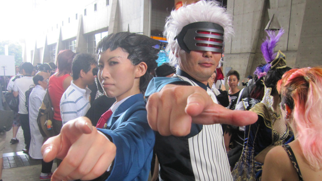 The Cosplaying Dudes of the Tokyo Game Show