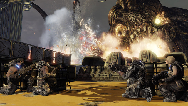 Gears of Wars 3 Decimates the Game Reviewing Hordes