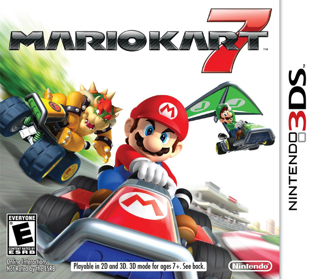 Mario Kart 7 Gyros in a New Trailer with First-Person Mode