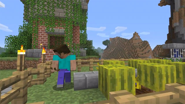 Minecraft's Big Adventure Update 'Leaks' A Lil' Early