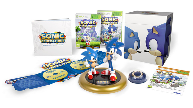 This Is How Sonic Generations Does A Collector's Edition
