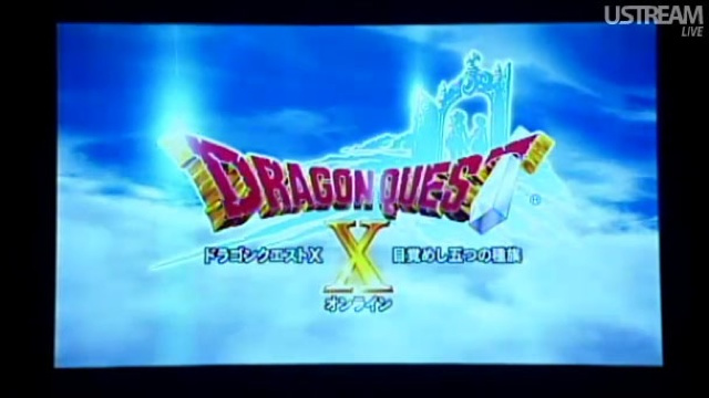 Dragon Quest X Reborn as an Online Role-Playing Game for Wii and Wii U