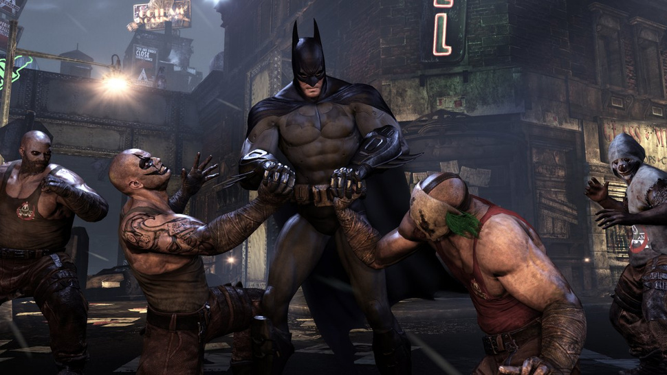 Finding an Even Better Brawl in Batman's <em>City</em>