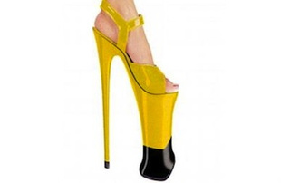 "The 9-Inch Heel, For That Hot ""Walking On Stilts"" Look"