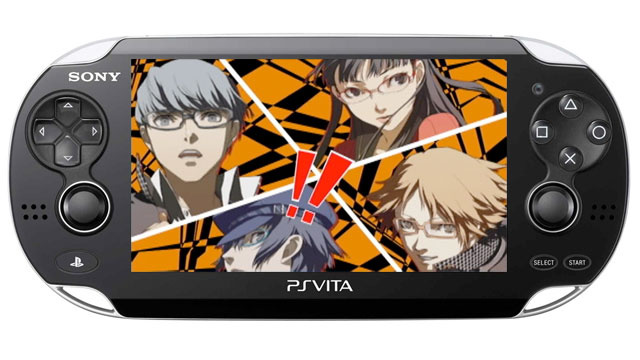 There's A Persona 4 for PlayStation Vita... and a Persona Fighting Game Too?!