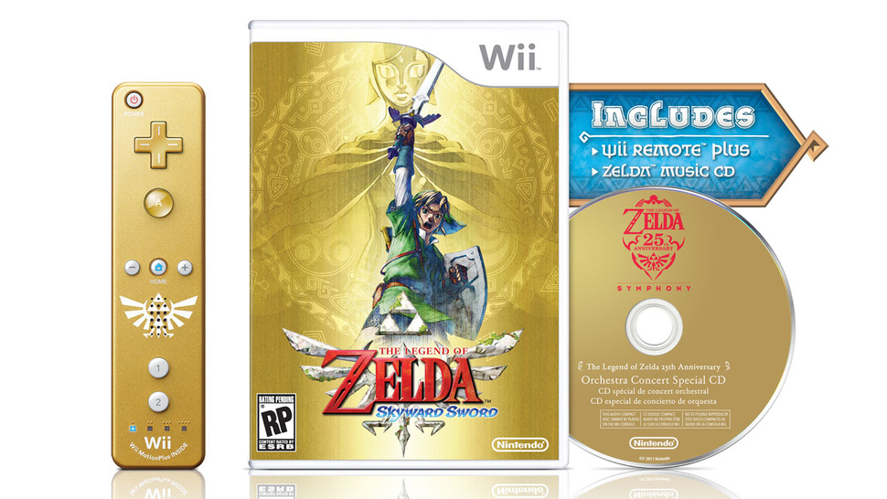 <em>Skyward Sword</em>'s Golden Bundle, <em>Tetris: Axis</em>, and the Latest <em>Layton</em> Cushion Nintendo's Fall