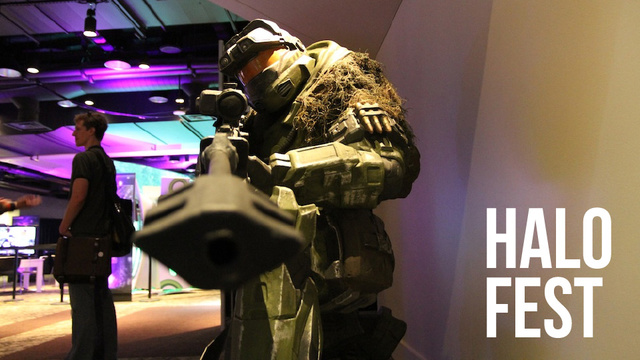 The Sights and Highlights of Halo Fest: Halo 4, Halo: Anniversary, The Duke, and More