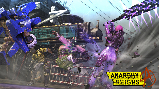 Part Brawler, Part Fighter, Anarchy Reigns Shows Promise and Flaws