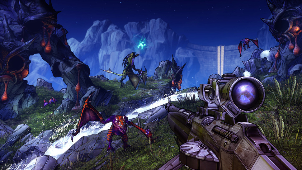 <em>Borderlands 2</em>, From the Angle You'll Be Playing It