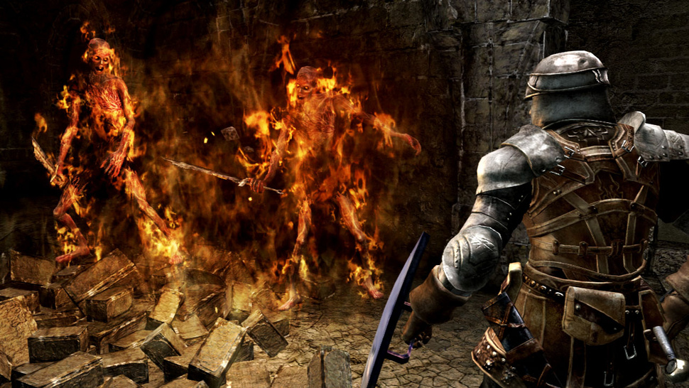 Hot New <em>Dark Souls</em> Screens Show Its 'Clothing Optional' Class