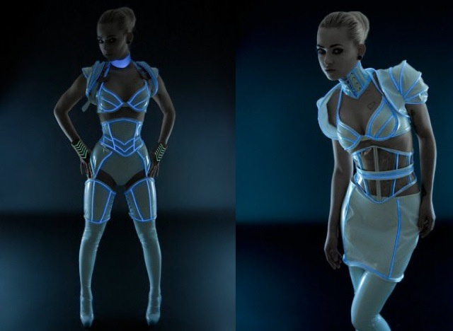Hello Sexy Tron Inspired Costume