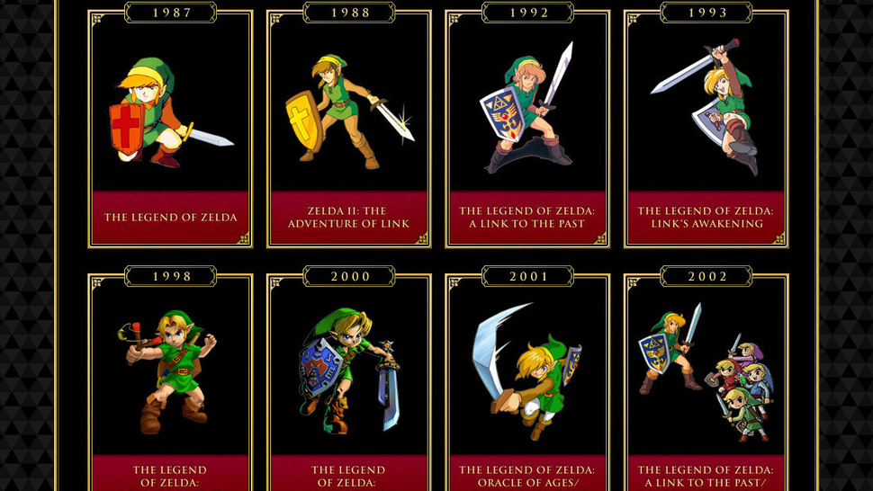 <em>Zelda</em> Games Used to be a Rare Thing