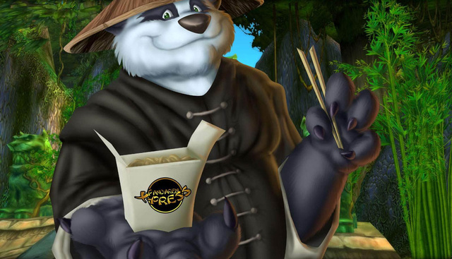 Is World of Warcraft Taking Giant Man-Pandas a Little More Seriously?