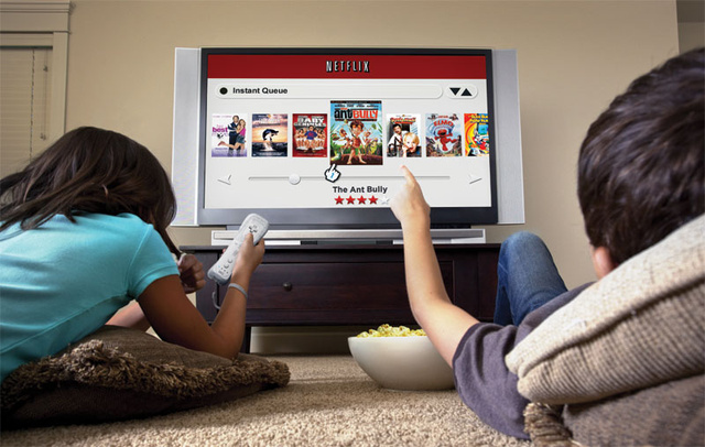 Half of All Netflix Users Watch Movies on a Games Console
