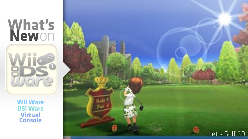 Now That We Feel Bad About Our Early 3DS Purchase, <em>Let's Golf</em>!