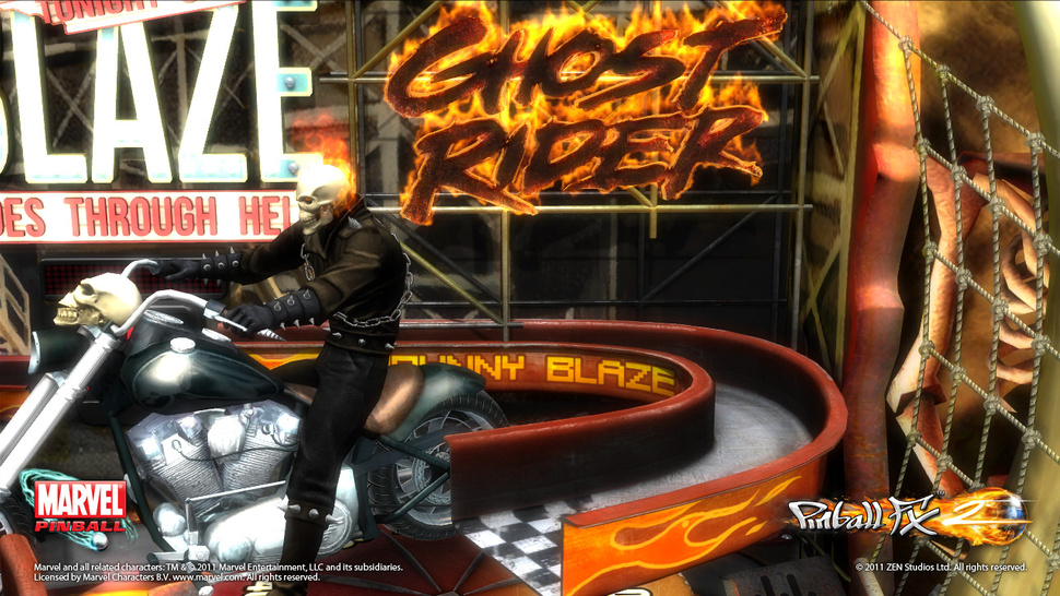 <em>Marvel Pinball</em> Expanding to Other Platforms, but First, a <em>Ghost Rider</em> Table