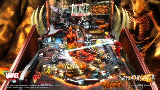 Marvel Pinball Expanding to Other Platforms, but First, a Ghost Rider Table