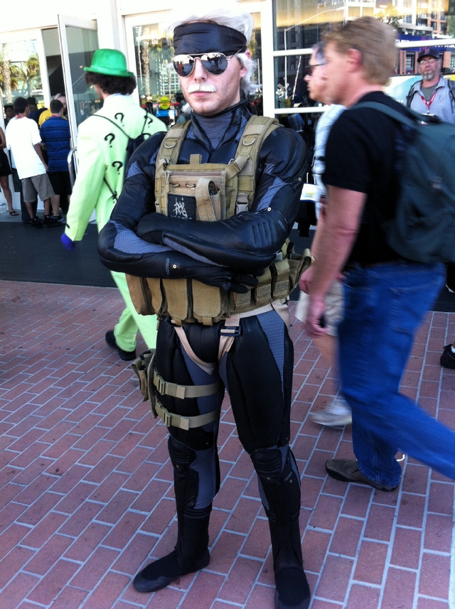 The Cosplay of Comic-Con—Day 3: Venti Snake