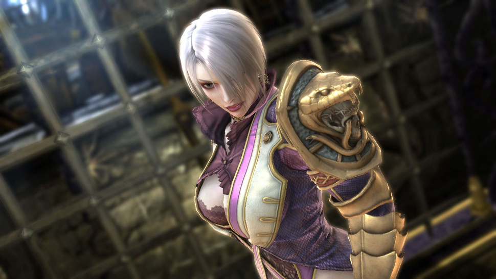 Meet Middle-aged Ivy and <em>Soulcalibur V</em>'s Two All-New Fighters