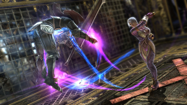 Meet Middle-aged Ivy and Soulcalibur V's Two All-New Fighters