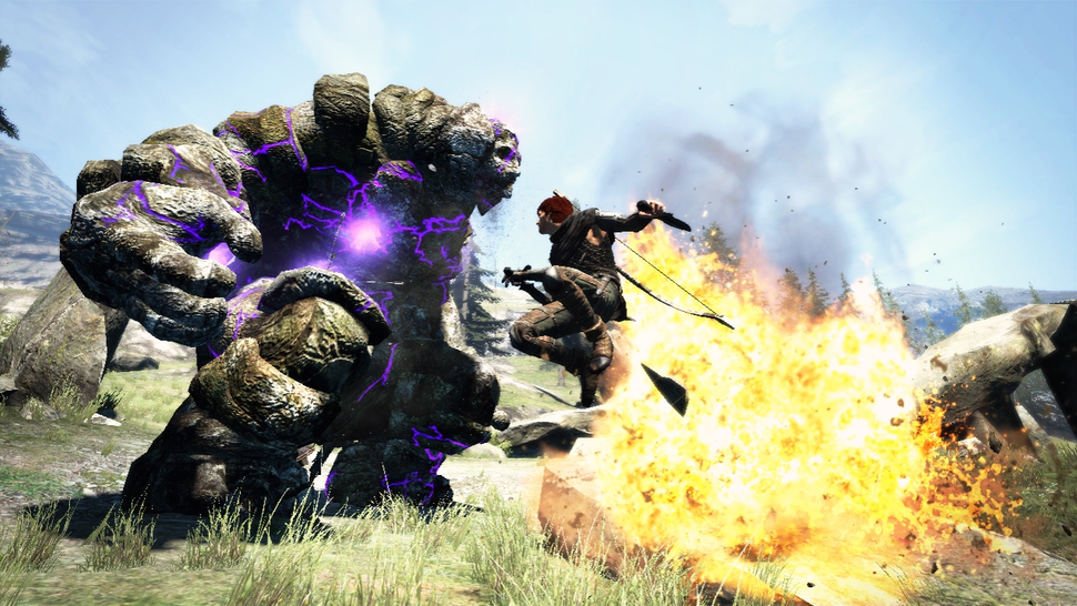 The Laser-Shooting Golem of Dragon's Dogma
