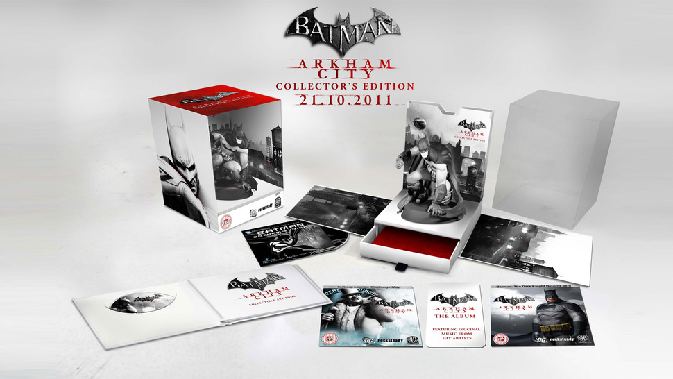 <em>Batman: Arkham City</em> Collector's Edition is Gotham City's Greatest Treasure