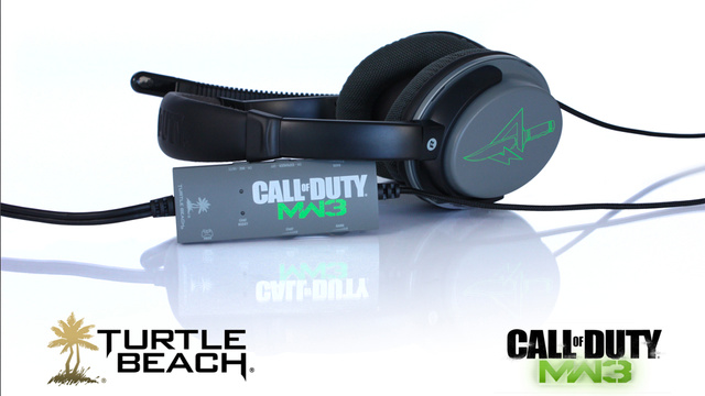 You've Got Modern Warfare 3 in My Turtle Beach Headsets