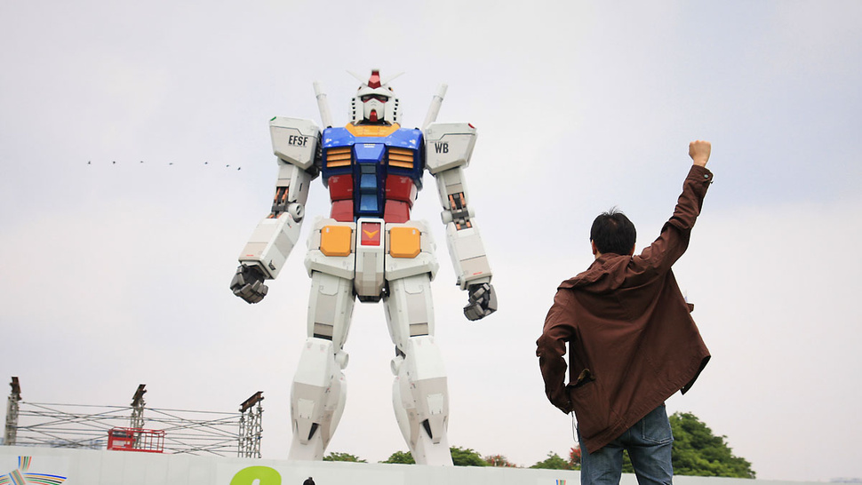 How About Another Life-Sized <em>Gundam</em> Statue?