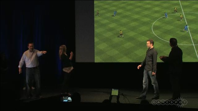 iOS FIFA 12 will be Playable on the Big Screen