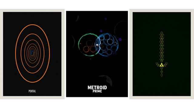 Great Game Posters Keep it Simple