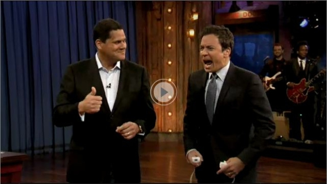 Wii Motion Plus Captures Jimmy Fallon's Wild Flailing on Late Night