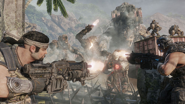 Maybe A Laugh Track and Tower Defense Are Just What Gears of War 3 Needed