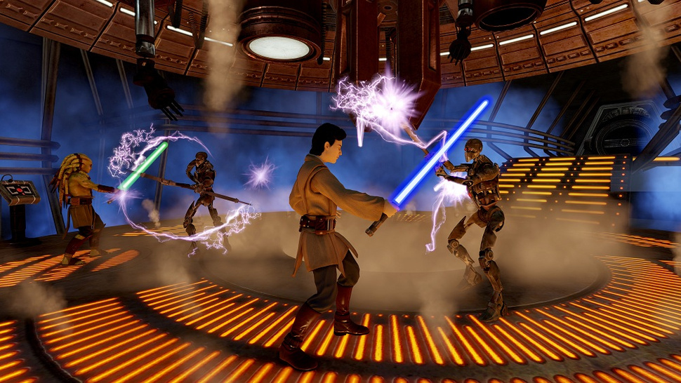 <em>Kinect Star Wars</em> Adds a Sense of Misplaced Gravitas To Jedi Fights