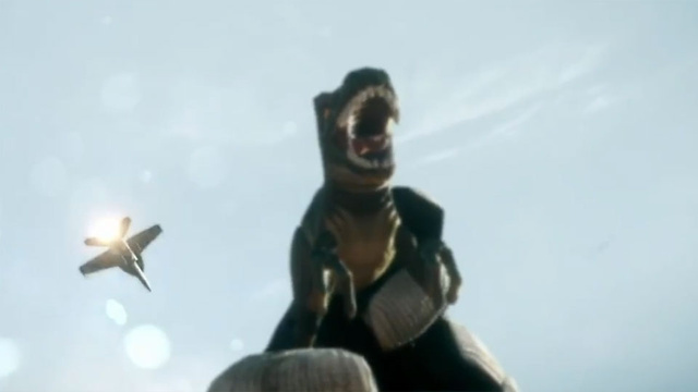 Battlefield 3 Reaches Out to 4chan With...Dinosaurs