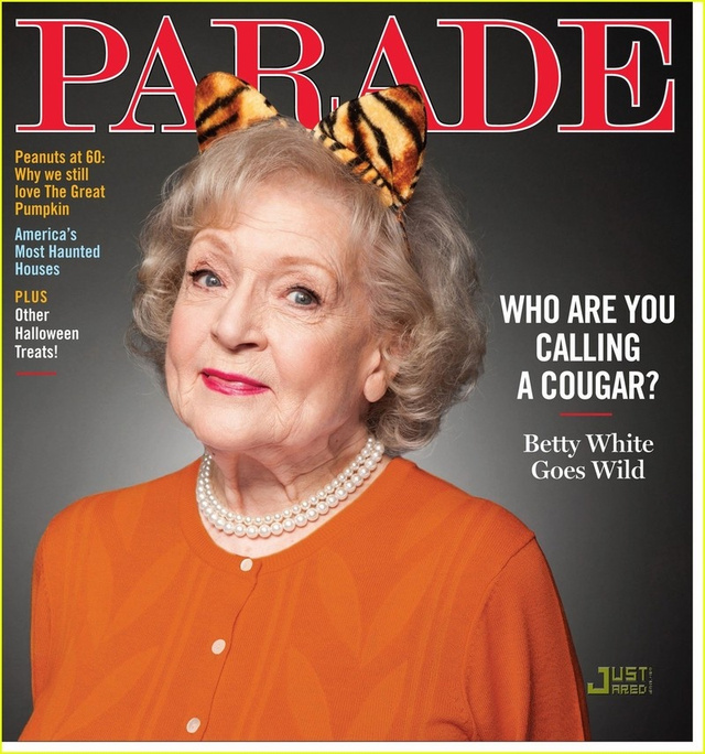 "Betty White Thinks Gay Marriage Is ""Fine"""