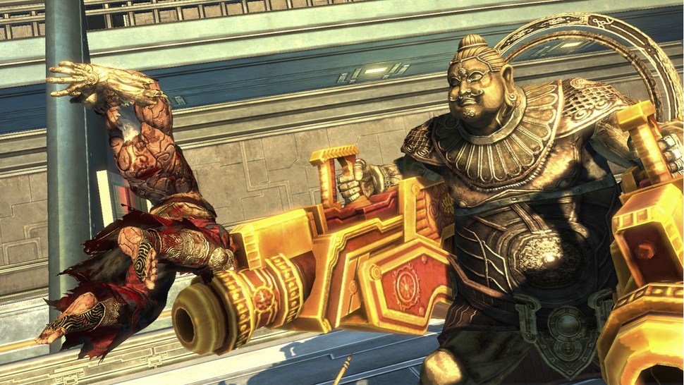<em>Asura's Wrath</em> Shows it's Time to Punch Gods In the Face