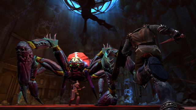 Even the Giant Flesh-Hungry Spiders Look Pretty in Neverwinter