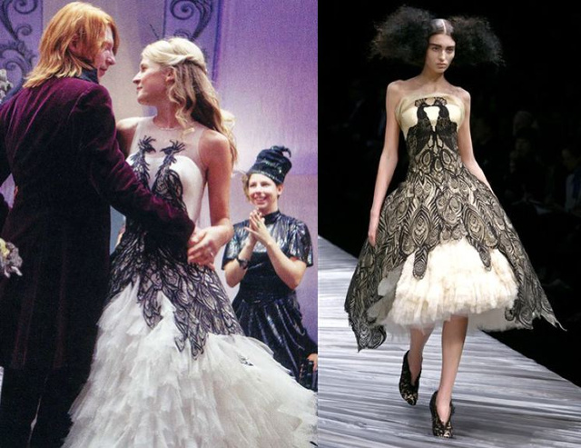 Harry Potter Knocks Off Alexander McQueen