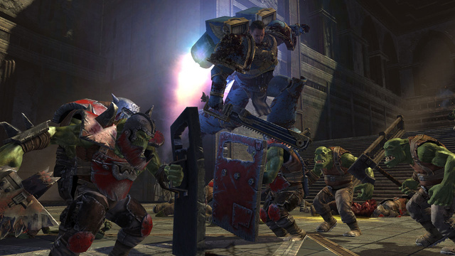 Warhammer 40,000: Space Marine Video and Screen Shots