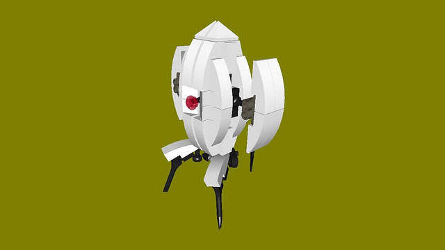 There you are, LEGO Portal Turret!