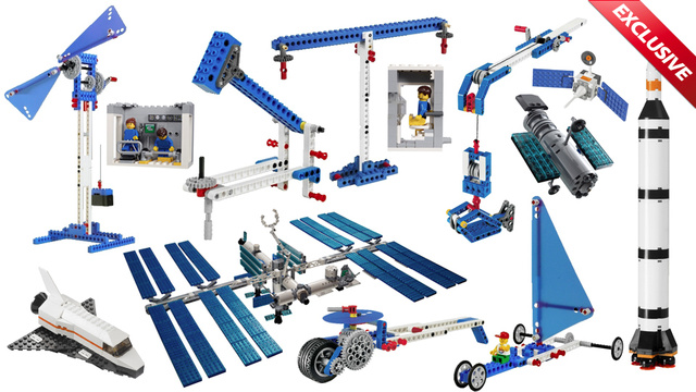 These Are the First Lego Sets Ever Launched Into Space