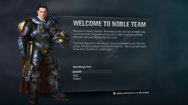 Stephen Colbert Joins Noble Team (Well, Not Really)