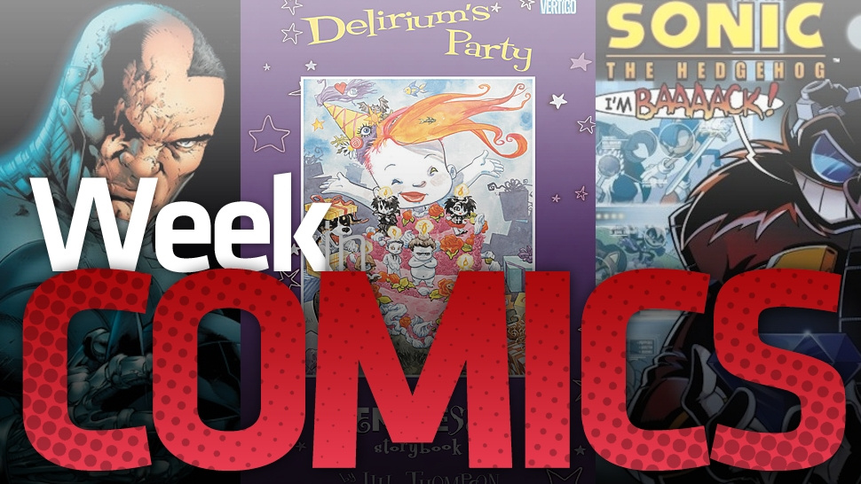 <em>Sonic</em>'s Comic Keeps Going, The <em>Doom Patrol</em>'s Ends And Other Wednesday Comics Items