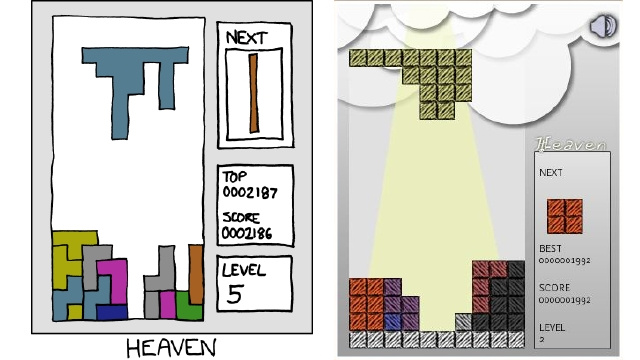Heavenly Tetris Delivers A Miracle From Above