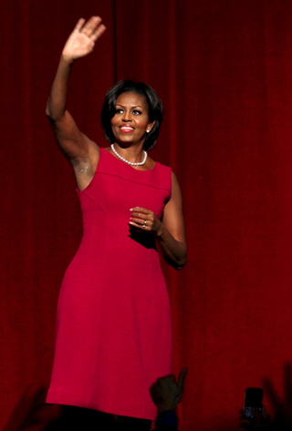 Michelle Obama Fundraises With Donna Karan, Pisses Off PETA
